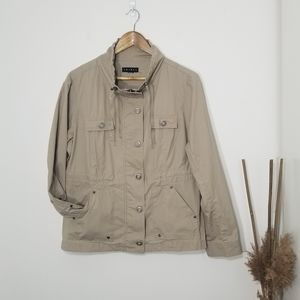 Tribal | Spring Tan Jacket with Pockets in front